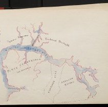 Image of [Map of landholders near Kil Mespaechtes] - Eugene L. Armbruster photographs and scrapbooks