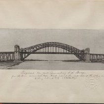 Image of [Hell Gate Bridge] - Eugene L. Armbruster photographs and scrapbooks