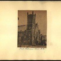 Image of [First Reformed Church] - Eugene L. Armbruster photographs and scrapbooks