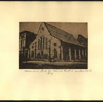Image of Ascencion Protestant Episcopal Church - Eugene L. Armbruster photographs and scrapbooks