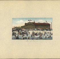 Image of Beach Scene  - Eugene L. Armbruster photographs and scrapbooks