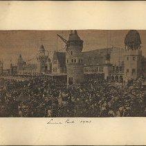 Image of Luna Park - Eugene L. Armbruster photographs and scrapbooks