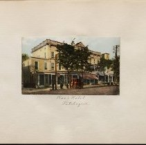 Image of Roe's Hotel - Eugene L. Armbruster photographs and scrapbooks