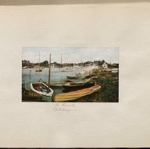 Image of [Patchogue Creek] - Eugene L. Armbruster photographs and scrapbooks