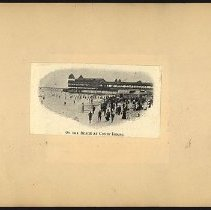 Image of On the Beach at Coney Island - Eugene L. Armbruster photographs and scrapbooks