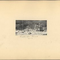 Image of Galveston Flood 1904 - Eugene L. Armbruster photographs and scrapbooks
