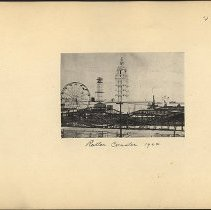 Image of Roller Coaster 1904 - Eugene L. Armbruster photographs and scrapbooks
