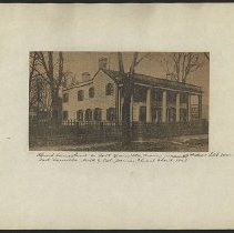 Image of [Church homestead] - Eugene L. Armbruster photographs and scrapbooks