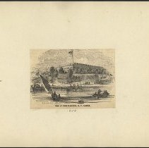 Image of View of Fort Hamilton, N.Y. Harbor - Eugene L. Armbruster photographs and scrapbooks