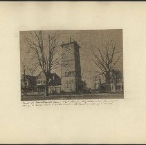 Image of Tower at New Utrecht Ave and 56th Street - Eugene L. Armbruster photographs and scrapbooks