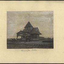 Image of Kensington Station - Eugene L. Armbruster photographs and scrapbooks