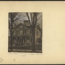 Image of Henry K Dyers Mansion  - Eugene L. Armbruster photographs and scrapbooks