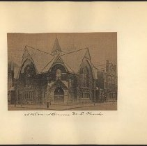 Image of Nostrand Avenue M.E. Church - Eugene L. Armbruster photographs and scrapbooks