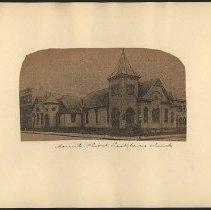 Image of Mount Olivet Presbyterian Church - Eugene L. Armbruster photographs and scrapbooks