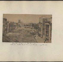 Image of [Flatbush Avenue Extension from Fulton Street] - Eugene L. Armbruster photographs and scrapbooks
