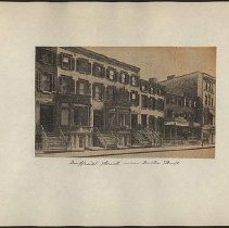 Image of [Duffield Street near Fulton Street] - Eugene L. Armbruster photographs and scrapbooks