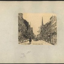 Image of [Montague Street, 1889] - Eugene L. Armbruster photographs and scrapbooks