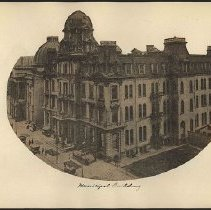 Image of [Municipal Building] - Eugene L. Armbruster photographs and scrapbooks