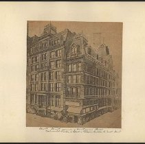 Image of [Court Street corner of Montague Street] - Eugene L. Armbruster photographs and scrapbooks