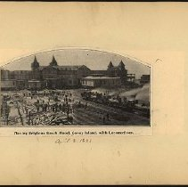 Image of Moving Brighton Beach Hotel  - Eugene L. Armbruster photographs and scrapbooks