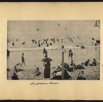 Image of Manhattan Beach  - Eugene L. Armbruster photographs and scrapbooks