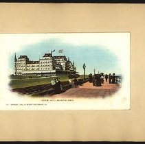 Image of Oriental Hotel, Manhattan Beach - Eugene L. Armbruster photographs and scrapbooks