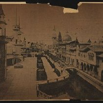 Image of Fore Court of Luna Park 1903 - Eugene L. Armbruster photographs and scrapbooks