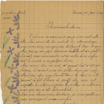 Image of Packer Collegiate Institute records - Letters from students at College Jules-Ferry (Saint-Die-des-Vosges, France) to The Packer Collegiate Institute