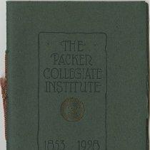 Image of Packer Collegiate Institute records - Packer Collegiate Institute 75th anniversary booklet