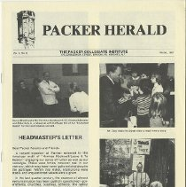 Image of Packer Collegiate Institute records - Packer Herald, Vol. V, No. 2