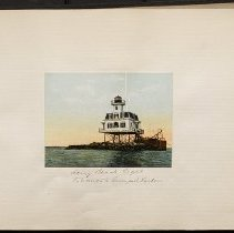 Image of [Long Beach lighthouse] - Eugene L. Armbruster photographs and scrapbooks