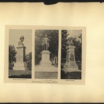 Image of [Monuments in Prospect Park] - Eugene L. Armbruster photographs and scrapbooks