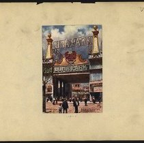 Image of Entrance to Luna Park, Coney Island  - Eugene L. Armbruster photographs and scrapbooks