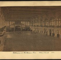Image of Ballroom on the Ocean Pier - Eugene L. Armbruster photographs and scrapbooks