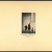Image of The Giant and the Dwarf - Eugene L. Armbruster photographs and scrapbooks
