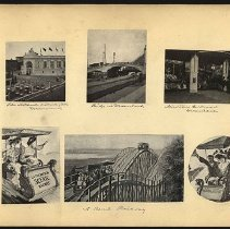 Image of [Attractions at Dreamland] - Eugene L. Armbruster photographs and scrapbooks