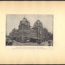 Image of Grand Central Station, Forty-Second Street and Fourth Avenue - Eugene L. Armbruster photographs and scrapbooks