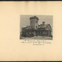 Image of [House on hill] - Eugene L. Armbruster photographs and scrapbooks