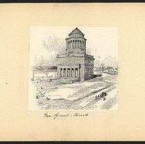 Image of Gen. Grant's Tomb - Eugene L. Armbruster photographs and scrapbooks