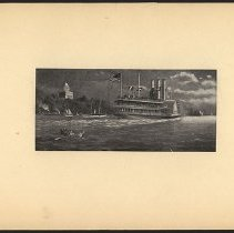 Image of [Large ship]  - Eugene L. Armbruster photographs and scrapbooks