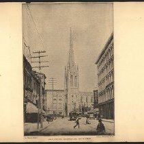 Image of Grace Church, Broadway and Tenth Street  - Eugene L. Armbruster photographs and scrapbooks