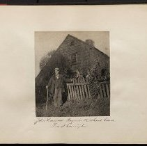 Image of John Howard Payne's childhood home - Eugene L. Armbruster photographs and scrapbooks