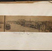 Image of Queensboro Bridge plaza  - Eugene L. Armbruster photographs and scrapbooks