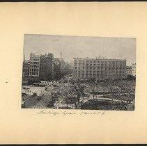 Image of Madison Square  - Eugene L. Armbruster photographs and scrapbooks