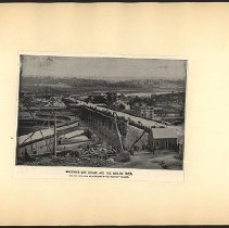 Image of McComb's Dam Bridge and the Harlem River  - Eugene L. Armbruster photographs and scrapbooks
