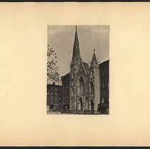 Image of [Church in Manhattan] - Eugene L. Armbruster photographs and scrapbooks