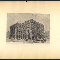 Image of The Puck Building  - Eugene L. Armbruster photographs and scrapbooks