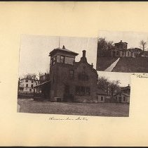 Image of [Two buildings]  - Eugene L. Armbruster photographs and scrapbooks
