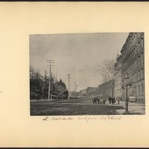 Image of St. Nicholas Ave North from 129th Street - Eugene L. Armbruster photographs and scrapbooks