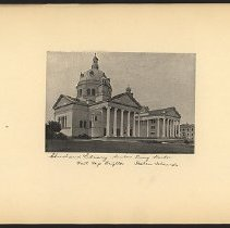 Image of [Church and Library, Sailor's Snug Harbor]  - Eugene L. Armbruster photographs and scrapbooks